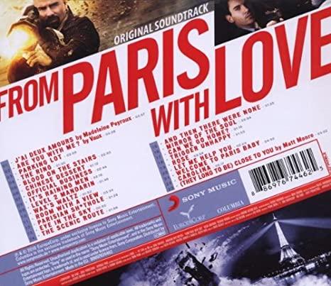 「パリより愛をこめて」のサントラ